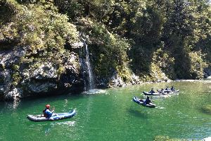 Kayak on Pelorus River