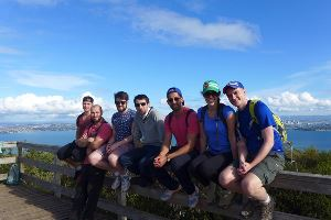 Members' trip on Rangitoto