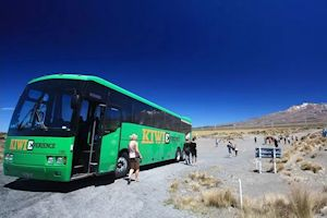Stop at Tongariro National Park