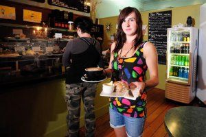 Waitress job, Dunedin