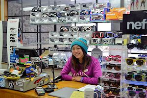 Retail work in Queenstown