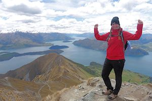I loved hiking in Wanaka