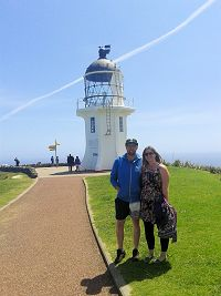 Arthur and Annice, Cape Reinga