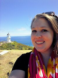 """I loved Cape Reinga"""