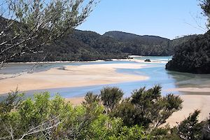 The Abel Tasman beaches