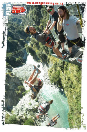 Queenstown Canyon Swing
