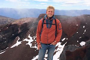 In Tongariro National park