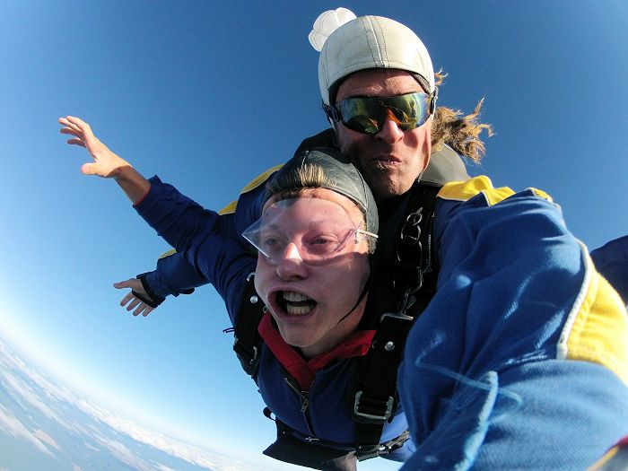 Jason Skydiving in Taupo