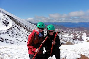 Me & my friend in Tongariro