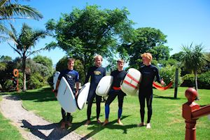 I learned to surf in Ahipara