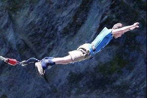 I did Bungy!