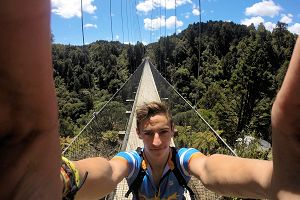 The longest hanging bridge in the southern hemisphere