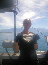 Fishing in Kaikoura