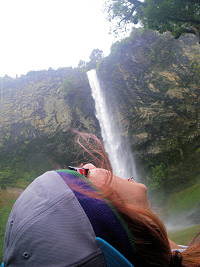 Most famous waterfall picture
