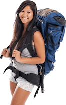 Backpacker women